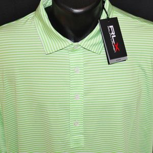 NEW RLX Ralph Lauren Performance Golf Shirt XL